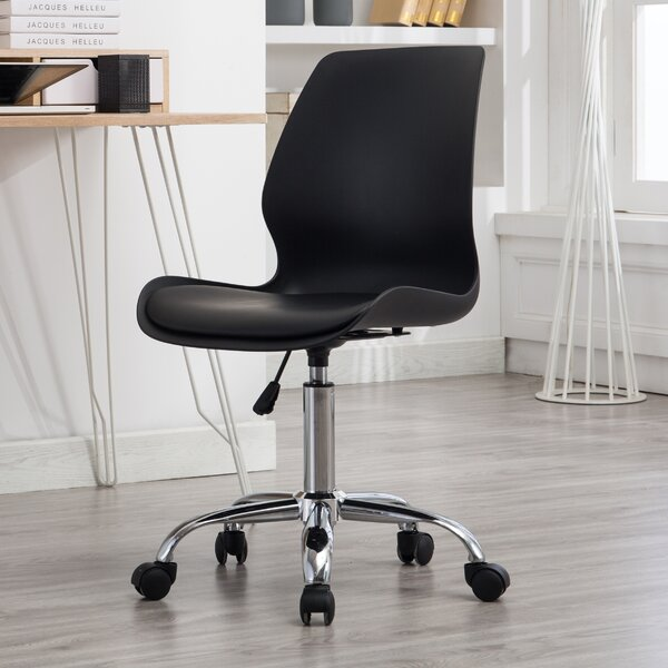 Moronta Adjustable Height Office Chair with Wheels by Ebern Designs