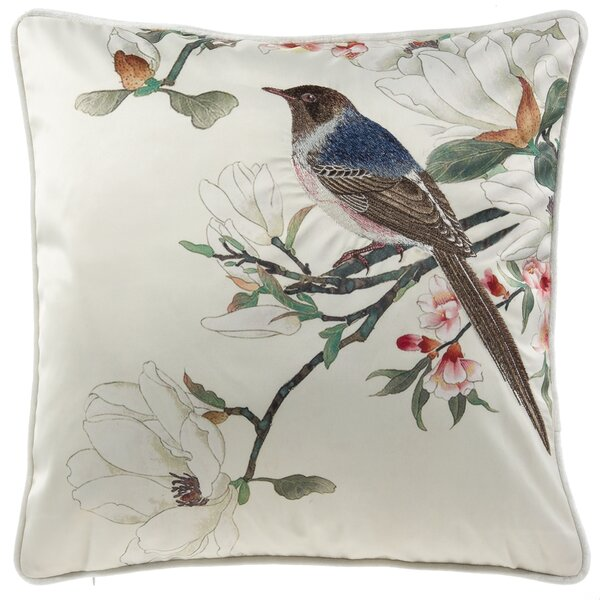 Lamotte Song Bird Throw Pillow by Astoria Grand