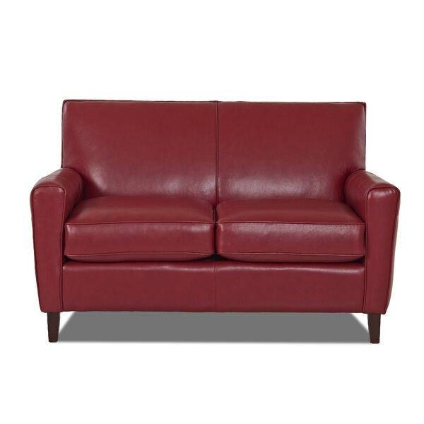 Cheap Price Gormley Leather Loveseat