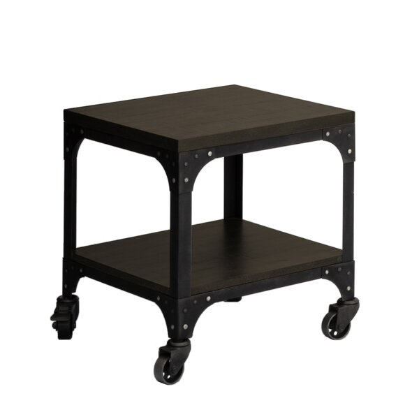 Burchell End Table by Williston Forge