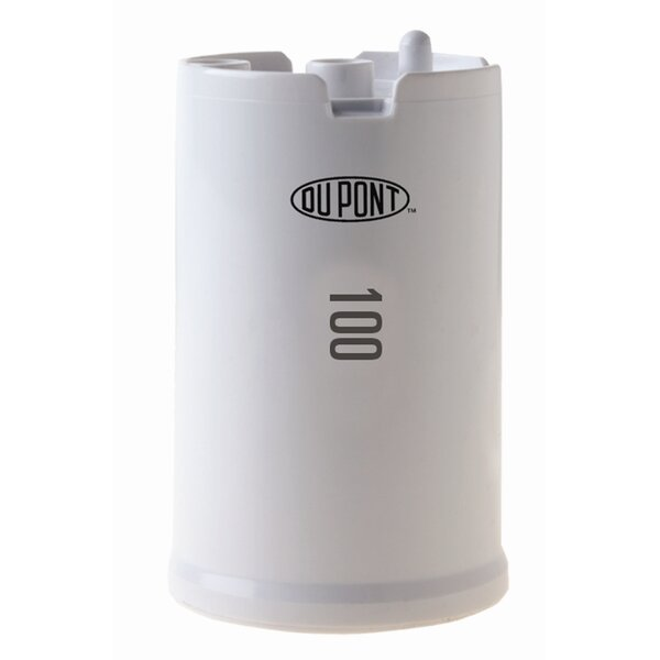 High Protection 100 Gallon Faucet Mount Water Filtration Cartridge by DuPont