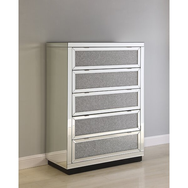 #2 Jessa 5 Drawer Chest By Rosdorf Park Great Reviews
