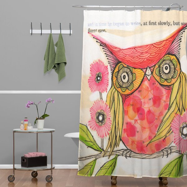 Donmoyer Dantini Miss Goldie Shower Curtain by Brayden Studio