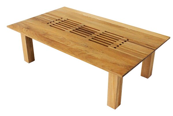 Hamilton Teak Coffee Table by OASIQ