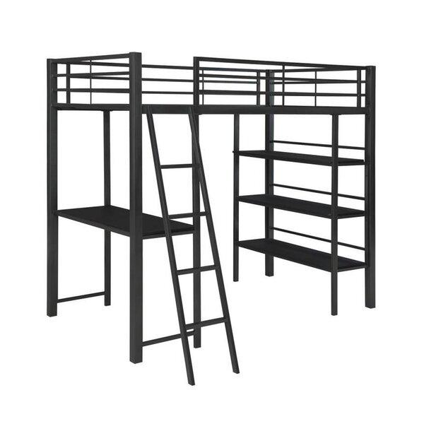 Sessoms Twin Over Twin Loft Bunk Configurable Bedroom Set by Harriet Bee