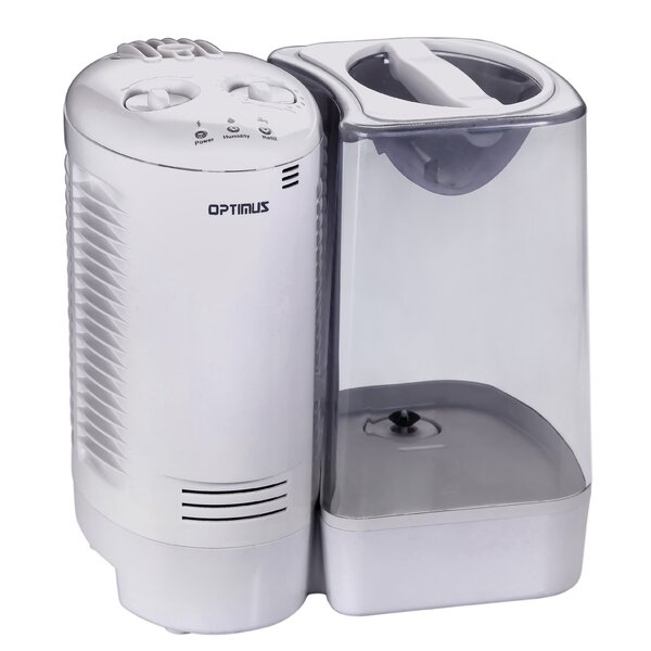 3 Gal. Warm Mist Console Humidifier by Optimus