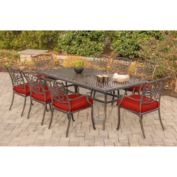 Raggs Traditions 9 Piece Dining Set by Astoria Grand
