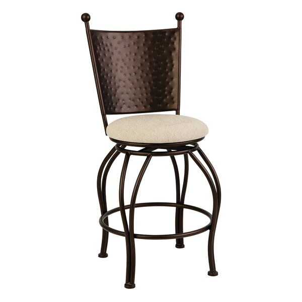 Mcelvain 26 Swivel Bar Stool by Bloomsbury Market