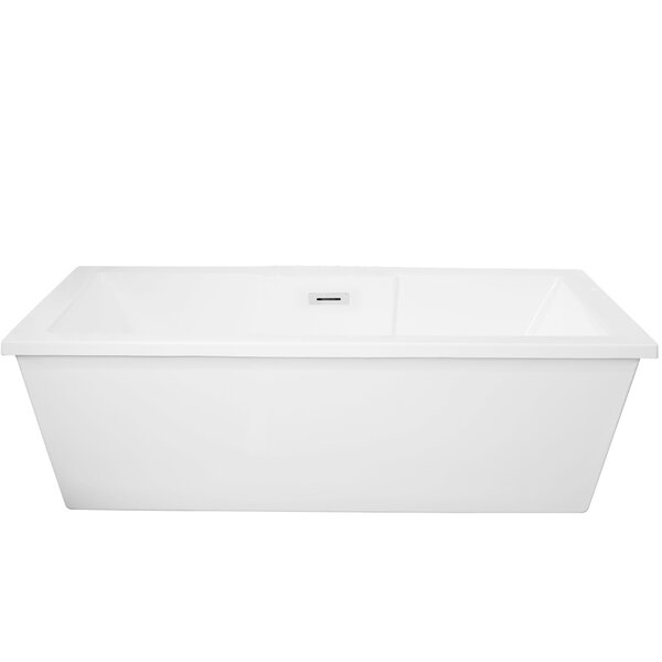 Ancona 70 x 32 Freestanding Soaking Bathtub by Vinnova