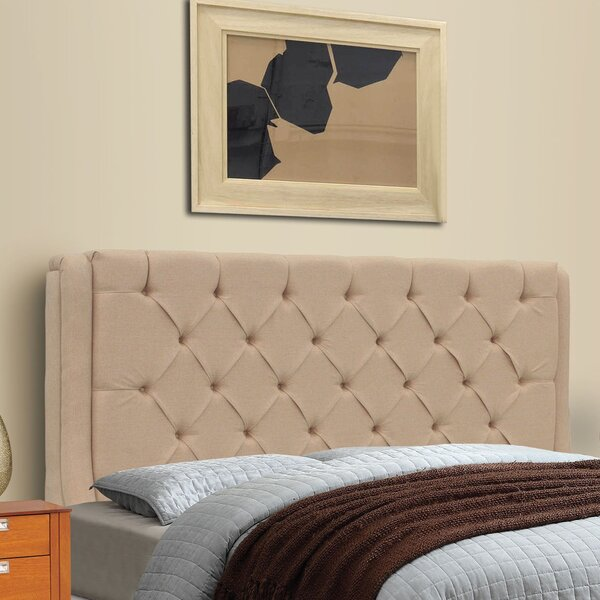 Solar King Upholstered Panel Headboard by REZ Furniture