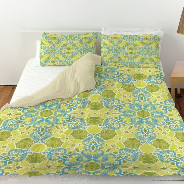 Funhouse 47 Duvet Cover by Manual Woodworkers & Weavers