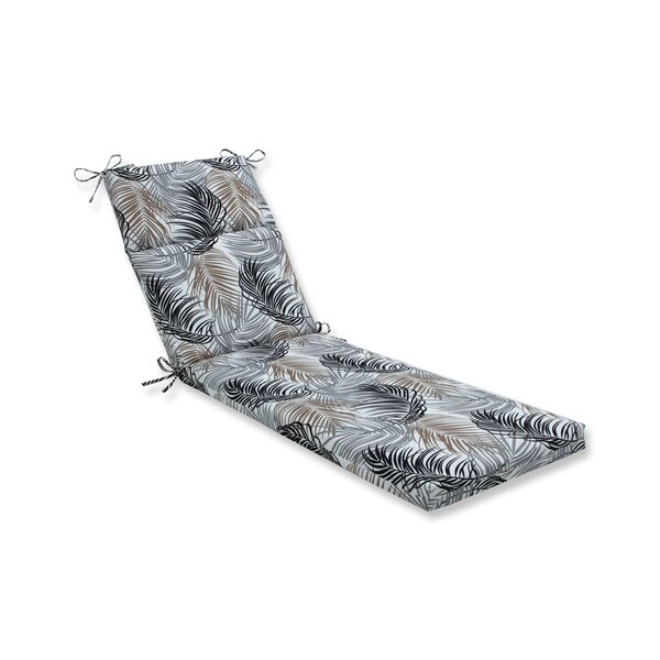 Maud Indoor/Outdoor Chaise Lounge Cushion By Bay Isle Home