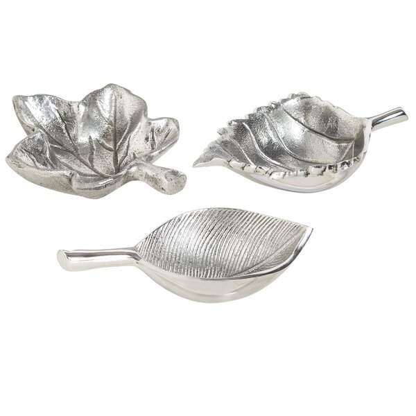 3 Piece Leaf Shaped Bowl Set by Alcott Hill