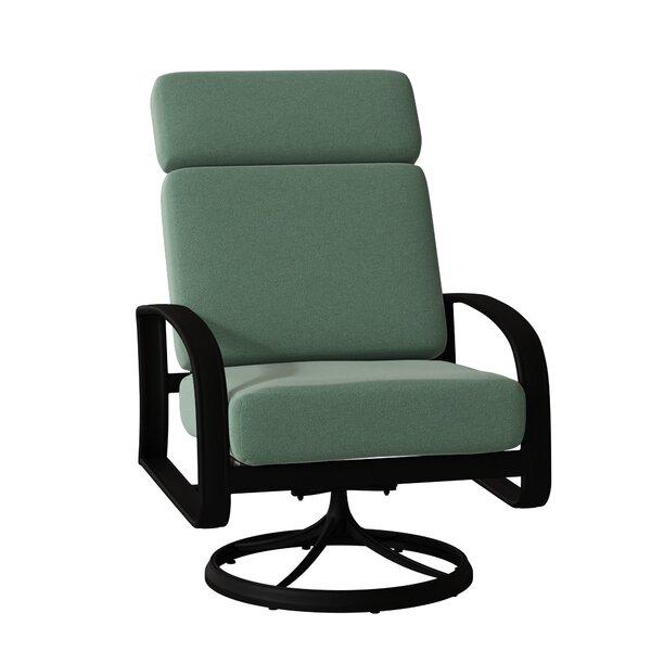 Cayman Isle Swivel Rocking Chair by Woodard