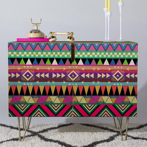 Bianca Green Credenza by Deny Designs Deny Designs