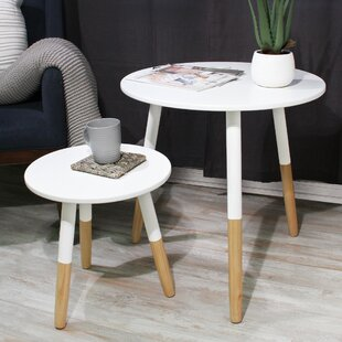 Purchase Coulson Round 2 Piece Coffee Table Set by George Oliver