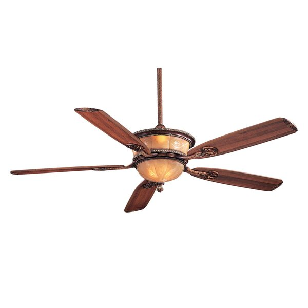 60 Hearst Castle Santa Lucia 5 Blade LED Ceiling Fan by Minka Aire