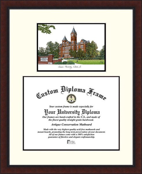NCAA Auburn University Legacy Scholar Diploma Picture Frame by Campus Images