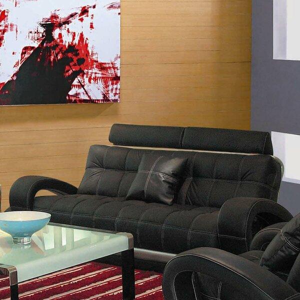 Arthur Leather Sofa by Hokku Designs