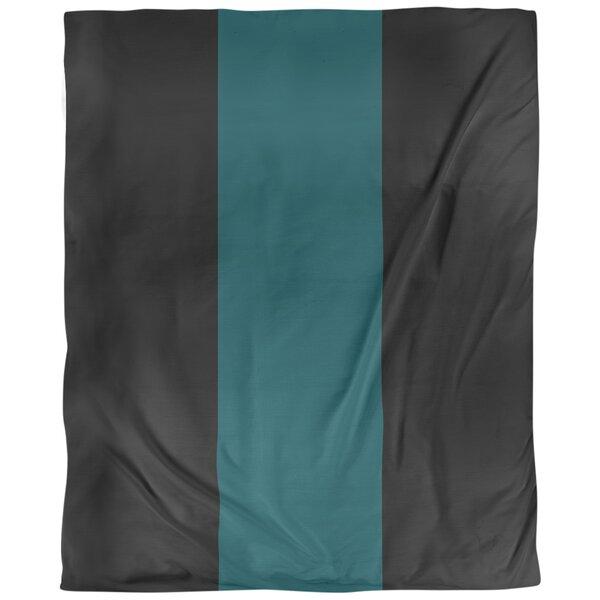 Philadelphia Arizona Football Stripes Single Duvet Cover
