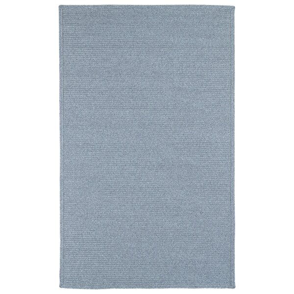 Dunbar Azure Indoor Azure Indoor/Outdoor Area Rug by Beachcrest Home