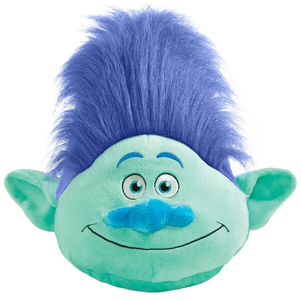 DreamWorks Trolls Branch Plush Chenille Throw Pillow by Pillow Pets