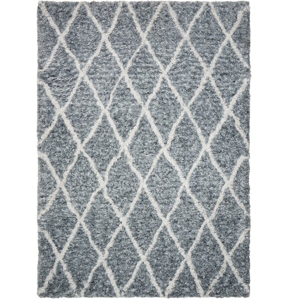 North Moore Hand-Tufted Gray/Ivory Area Rug by Brayden Studio
