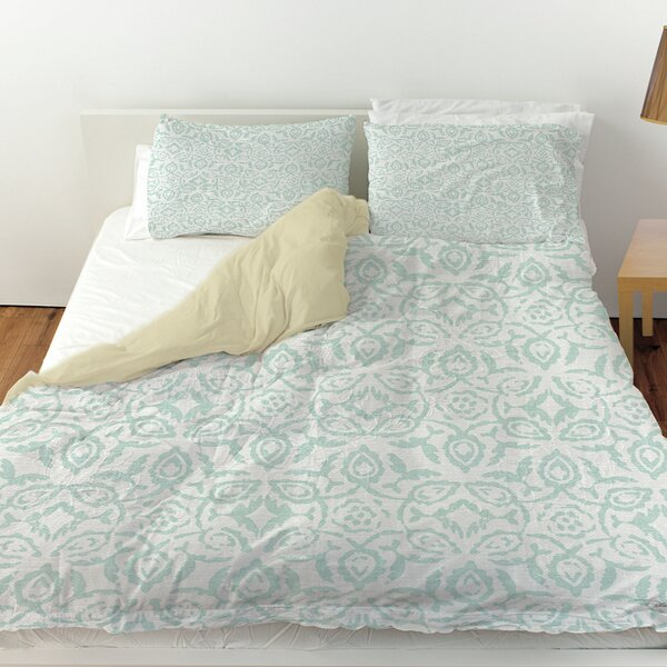Flowing Damask 2 Duvet Cover by Manual Woodworkers & Weavers