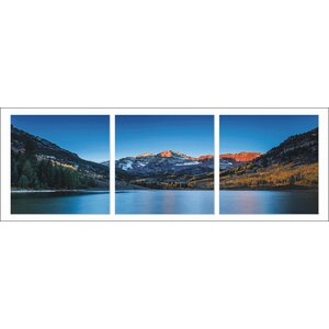 'Denver Colorado' Photographic Print Multi-Piece Image on Wrapped Canvas by Latitude Run