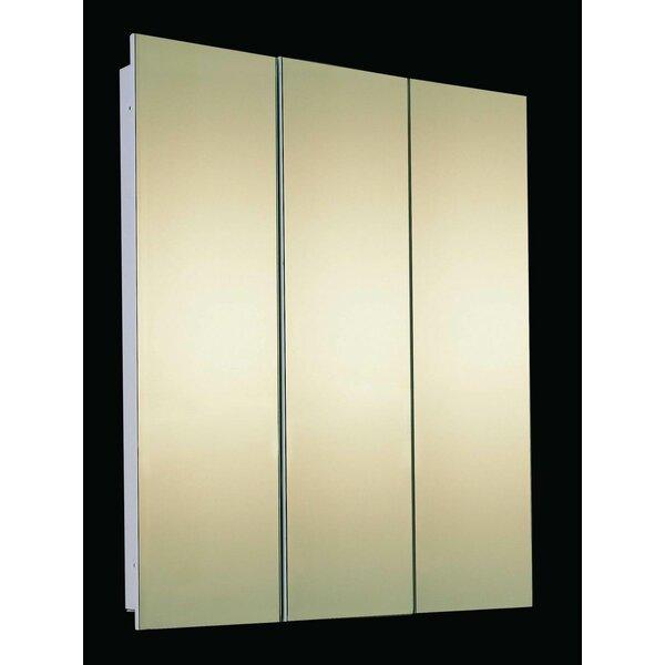Jarrett 36 x 30 Recessed Medicine Cabinet by Ebern Designs