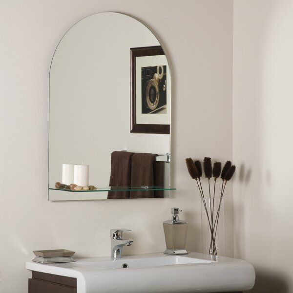 Roland Frameless Wall Mirror by Decor Wonderland
