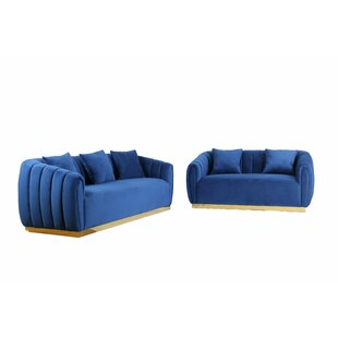 Zully Standard Configurable Living Room Set by Everly Quinn