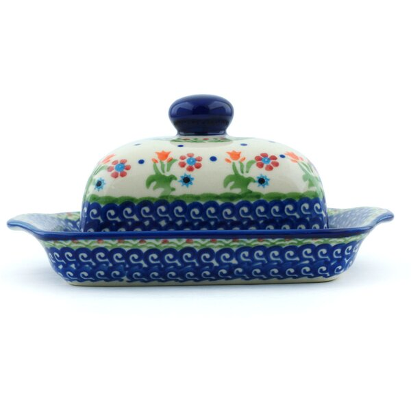 Spring Flowers Butter Dish by Polmedia