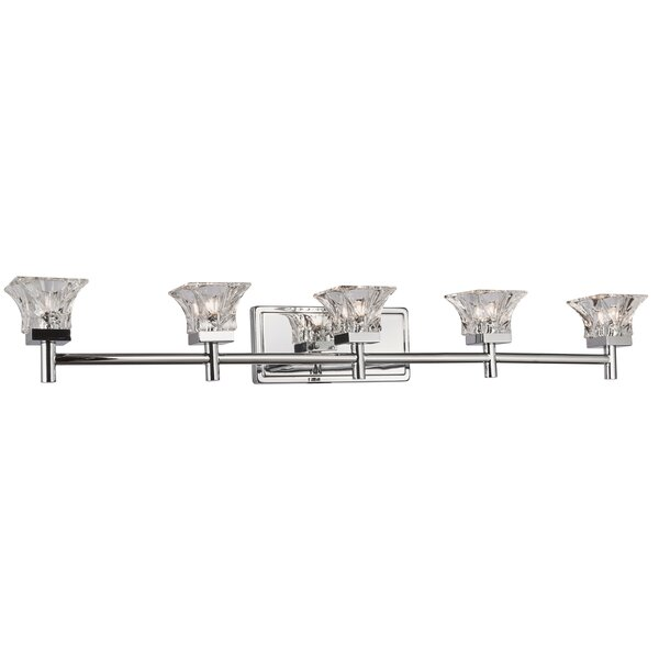 Gerard 5-Light Vanity Light by House of Hampton
