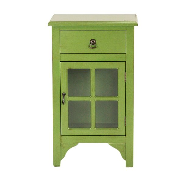 Torres 1 Door Accent Cabinet