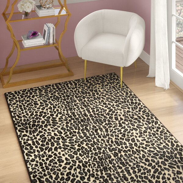 Colletta Ivory/Black Area Rug by Willa Arlo Interiors