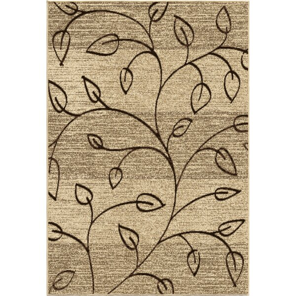 Unionville Gold Indoor/Outdoor Area Rug by Threadbind