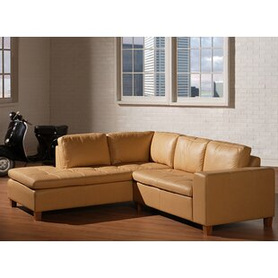 Allegro Leather Sectional