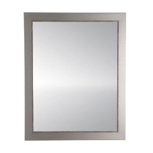 Brandt Works LLC Antique Nickel Silver Accent Mirrors