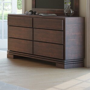 Vienna 6 Drawer Double Dresser by Artefama