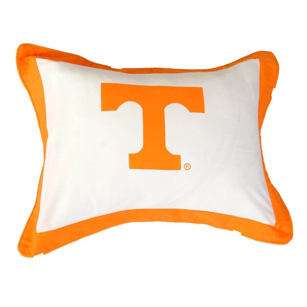 NCAA Tennessee Pillow Sham by College Covers
