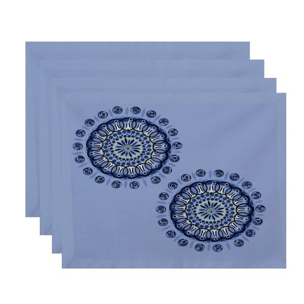 Arti Geometric Placemat (Set of 4) by Highland Dunes