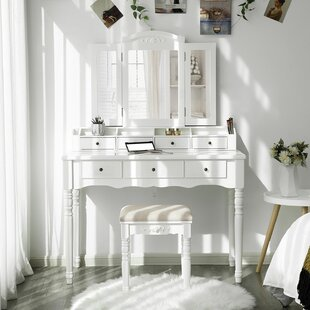 Soares Vanity Set with Mirror