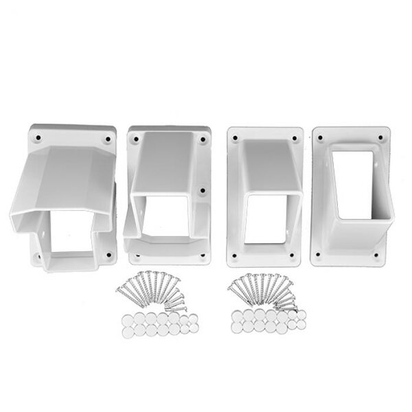 Stair Bracket Kit by Vinyl Fence Wholesaler