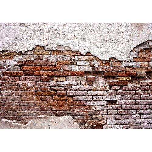 Fototapete Alte Mauer 1.46 m x 208 cm East Urban Home | Baumarkt > Malern und Tapezieren > Tapeten | East Urban Home