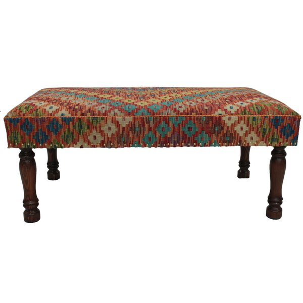 Stoker Upholstered Bench by Bloomsbury Market