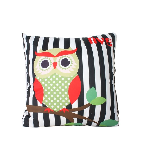 Hinkson Print Throw Pillow by Zoomie Kids