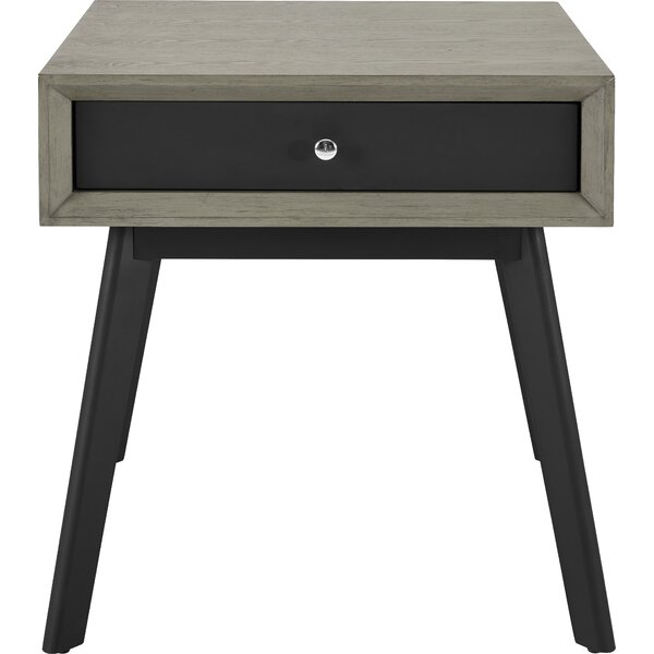 Roxie End Table with Drawer by Ivy Bronx