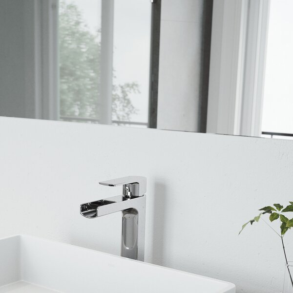 Amada Vessel Single Hole Bathroom Faucet by VIGO