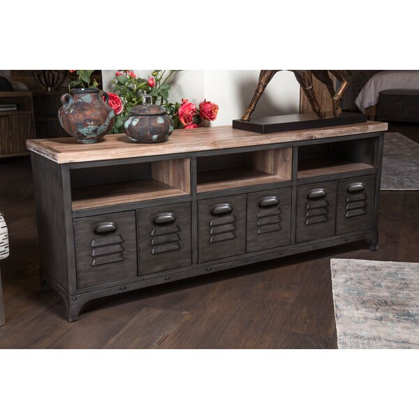 Brooklyn Walk Solid Wood TV Stand For TVs Up To 85
